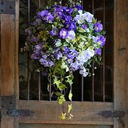 画像 紫ビオラのスリット壁掛け の記事より 3つ目