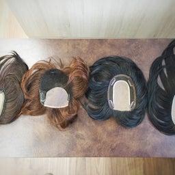 画像 【部分ウィッグ】頭頂部を隠すための女性用ウィッグのお値段はいくら? の記事より 4つ目