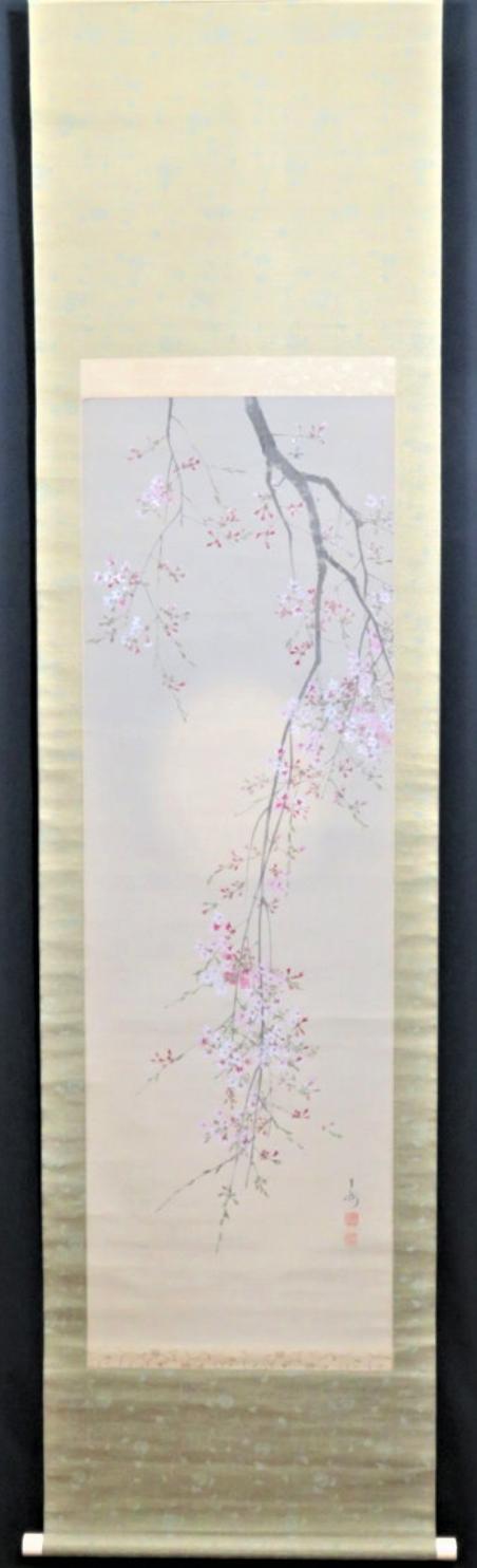 今井景樹 「朧月垂枝桜図」のご紹介の記事より