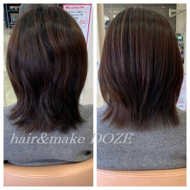 髪質改善とは、その言葉の通り、髪をキレイに改善していくことです!