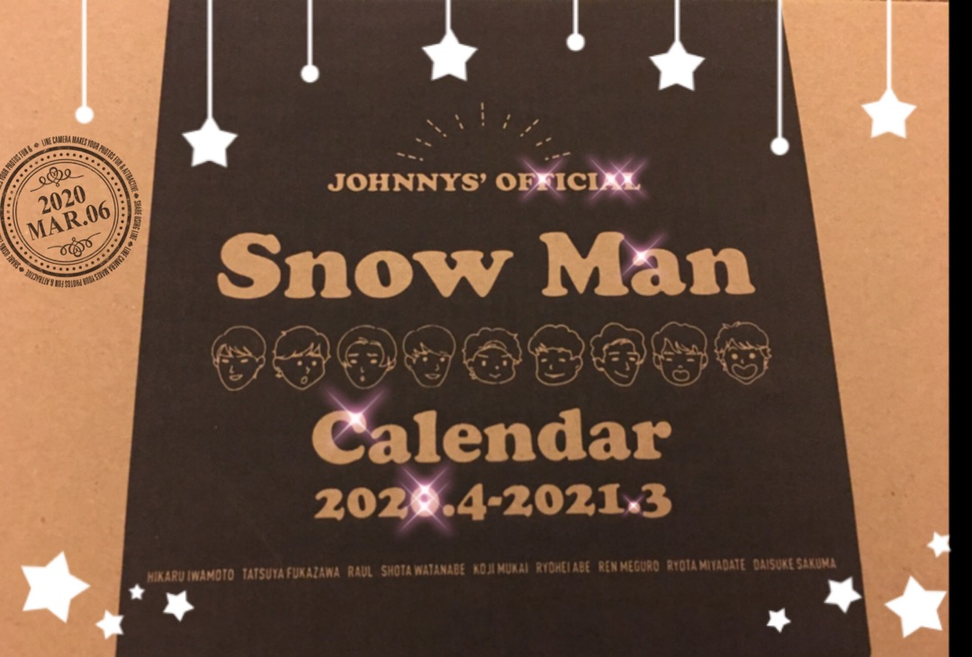 スノーマン カレンダー