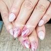 ピンクの春なニュアンスネイル♪の画像