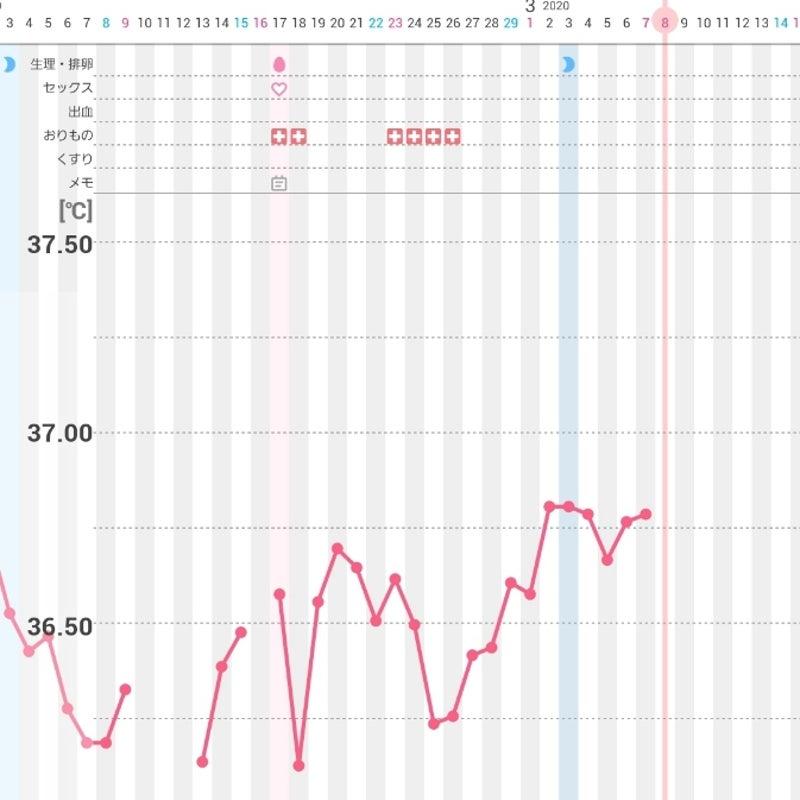 陰性 高温期18日目 高温期18日目 妊娠検査薬で陽性後