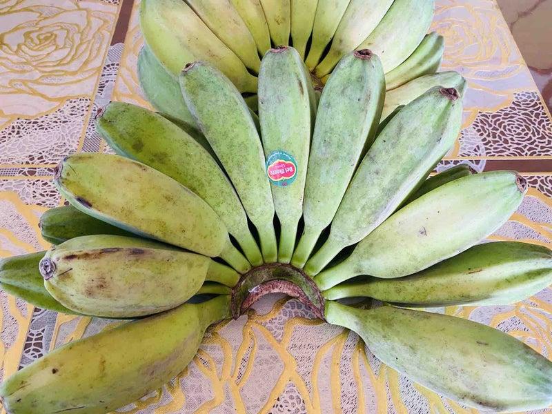 バナナ 茹でる