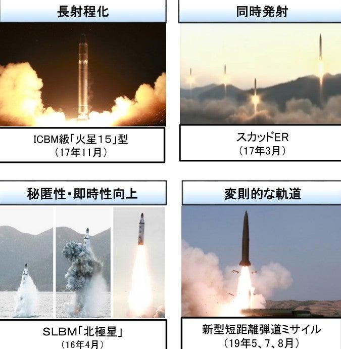 北朝鮮からの弾道ミサイル発射 能力向上と我が国の体制確認   赤池まさ ...