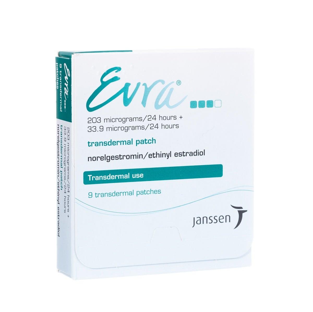 Evra 避妊 エブラ パッチ