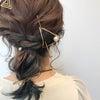 結婚式お呼ばれヘアーの画像