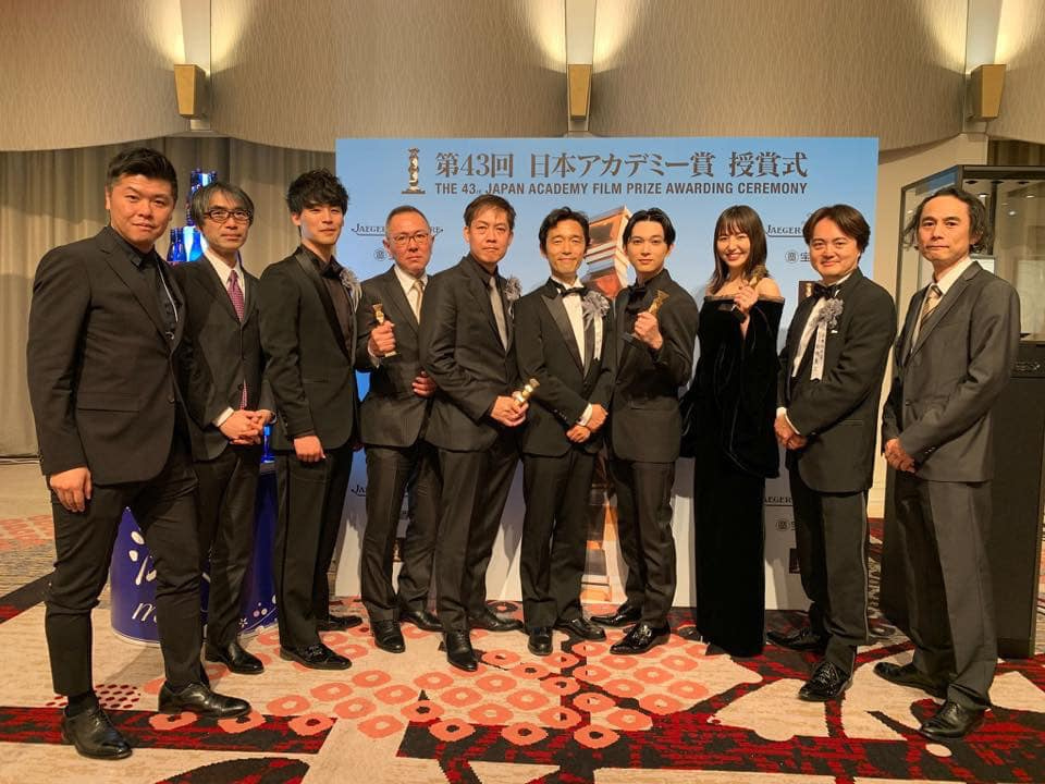 日本アカデミー賞で最多受賞!佐藤 信介監督、いつも最大級の刺激を頂いています。の記事より