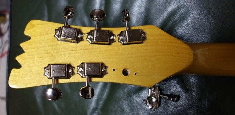 ギター ペグ 交換