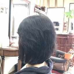 画像 くせ毛に喜ばれるキュビズムカット くせ毛軟毛の前下がりボブ の記事より 1つ目