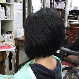 画像 くせ毛に喜ばれるキュビズムカット くせ毛軟毛の前下がりボブ の記事より 2つ目