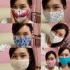 手作りマスク!の画像