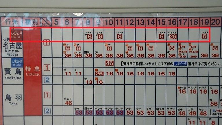 ひ の とり 時刻 表