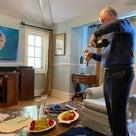 「麒麟がくる」の作曲家ジョン・グラムのお家で放映会♪の記事より