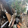 お化け屋敷の室内解体が終わりましたの画像