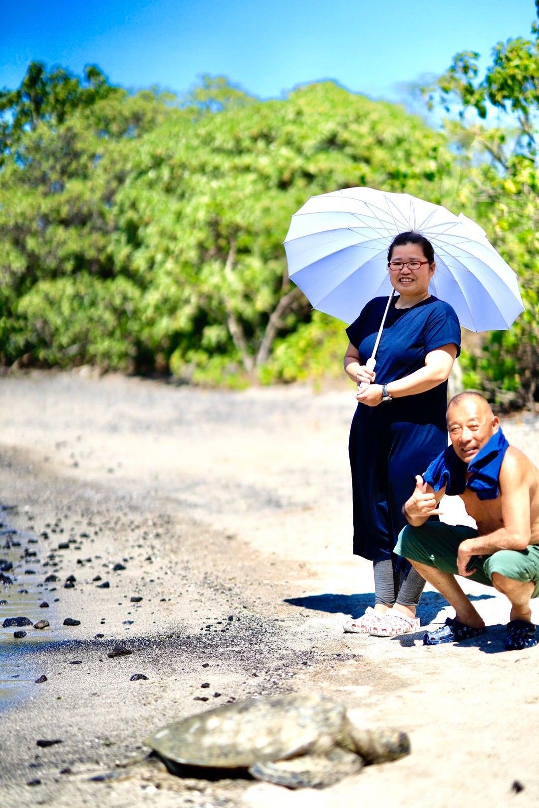 ハワイ島プウホヌア・オ・ホナウナウ国立歴史公園、ペインテッドチャーチ、村松 農園、木村さん前半