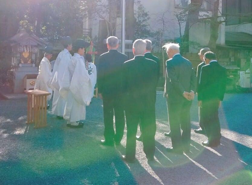 春季皇霊殿遥拝式並びに葦船社祭 [子安神社のブログ]   子安神社