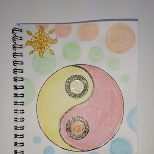 【宇宙元旦企画】  陰陽バランス調整アートの画像