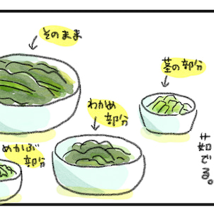 わかめ!ワカメ!WAKAME!な食卓〜調理編〜の画像