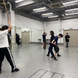 【レッスン紹介】大阪俳優養成所 殺陣①の画像