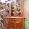 ♻️キッチン収納♻️☞Otsuka カップボード☞北欧風キッチン収納☞フラップ付きレンジボードの画像