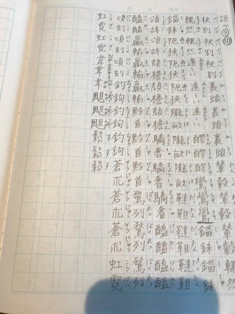 頻出度順 読み⑩ 演習 | ノロノロ漢字検定1級の勉強と私の日常