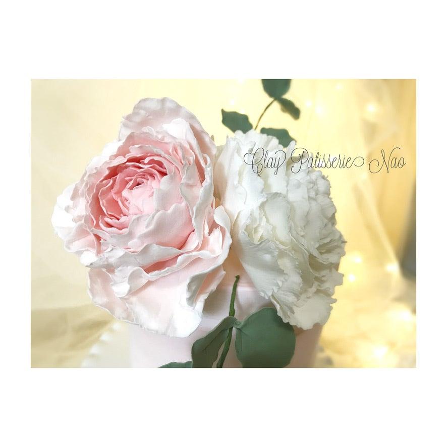 ピオニーのお花を作りました✨