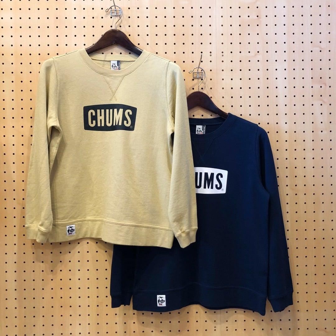 CHUMS Logo Crew Top 春スウェットの記事より