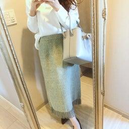画像 目がいく春色green!3色目追加のプチプラスカート♡ の記事より 8つ目