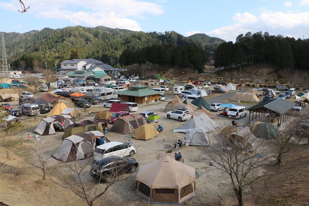 ささゆりの湯キャンプ場①