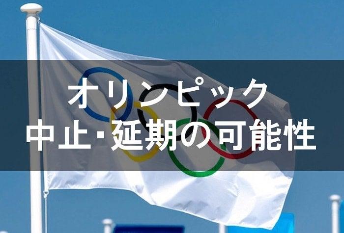 オリンピック中止の場合の損害