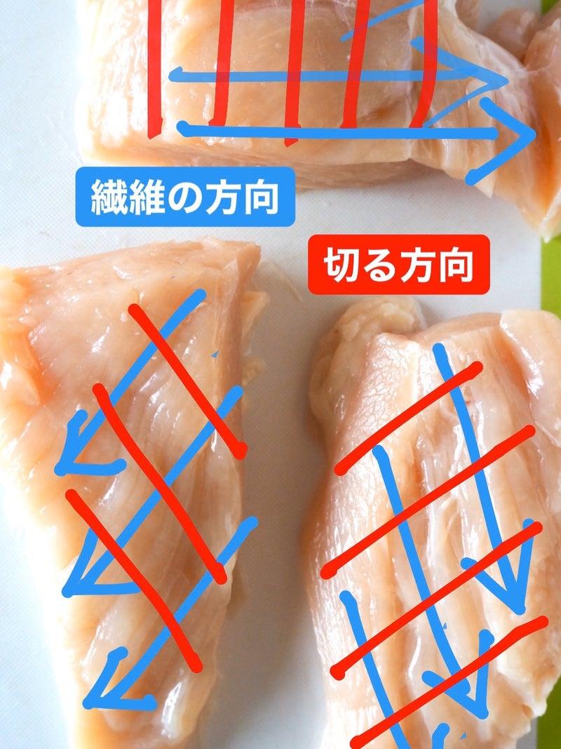 鶏 胸 肉 切り 方 鶏むね肉の切り方~鶏むねはそぎ切りしよう!