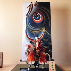 五月人形「馬上大将」の画像