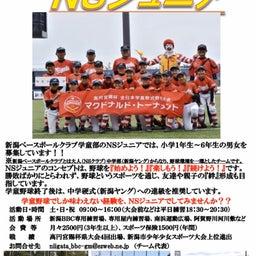 画像 新コロに負けるな! 学童野球NSジュニア選手募集です!! の記事より 1つ目