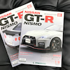 【デアゴスティーニ60】GT-R NISMO第80号81号エンジンフードヒンジ&ボンネット取付の画像
