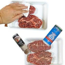 画像 極厚なのにやわらか輸入肉 ♪ ローストビーフ風 絶品赤身ステーキ の記事より 7つ目