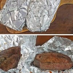 画像 極厚なのにやわらか輸入肉 ♪ ローストビーフ風 絶品赤身ステーキ の記事より 9つ目