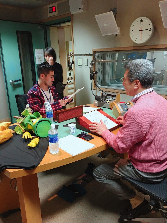 NHK「ラジオ深夜便」収録。