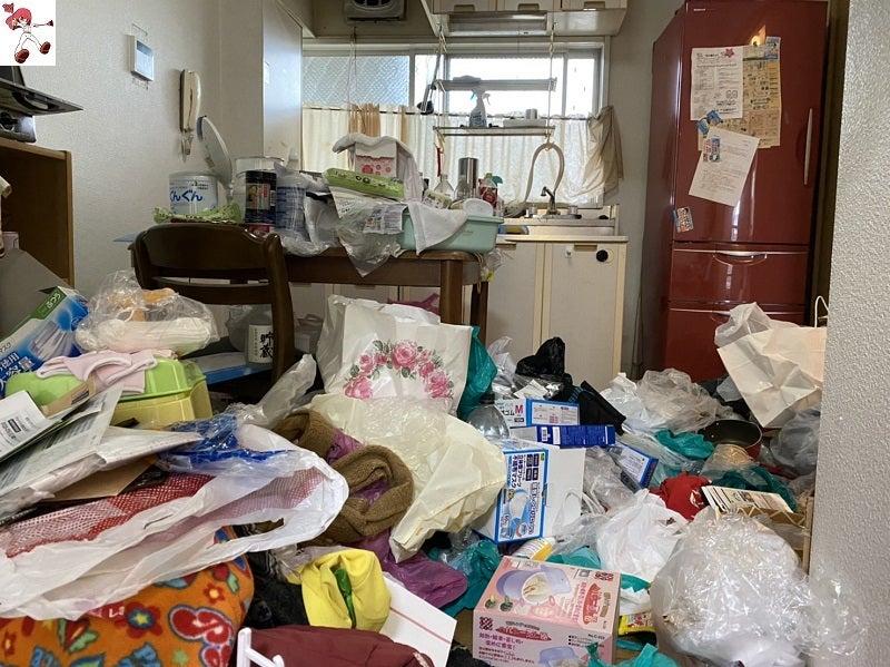 引っ越しでスッキリ(ビフォーアフター)名古屋市中心に汚部屋清掃