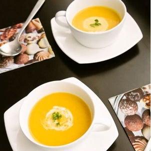 酪農家応援!ミキサーは使わずお鍋一つで☆かぼちゃのポタージュの画像