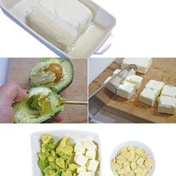 画像 あっという間に作れるダイエットな副菜 アボカドとアーモンドのチーズな白和え の記事より 5つ目