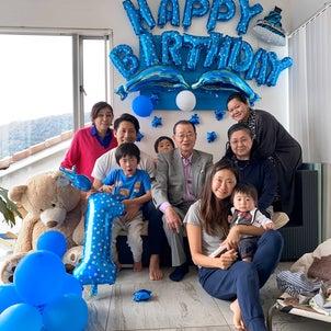 三男誕生日‼︎【手のかからないご機嫌ベビー】の画像
