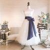 ドレス別×サッシュリボンコーデの画像