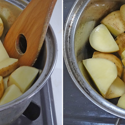 画像 2つの春野菜で簡単煮物  ホクホク!新じゃがとスナップエンドウのおかか煮 の記事より 8つ目