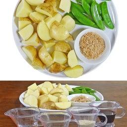 画像 2つの春野菜で簡単煮物  ホクホク!新じゃがとスナップエンドウのおかか煮 の記事より 7つ目