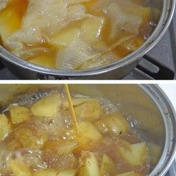 画像 2つの春野菜で簡単煮物  ホクホク!新じゃがとスナップエンドウのおかか煮 の記事より 12つ目