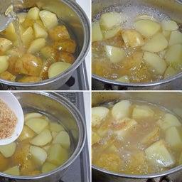 画像 2つの春野菜で簡単煮物  ホクホク!新じゃがとスナップエンドウのおかか煮 の記事より 10つ目