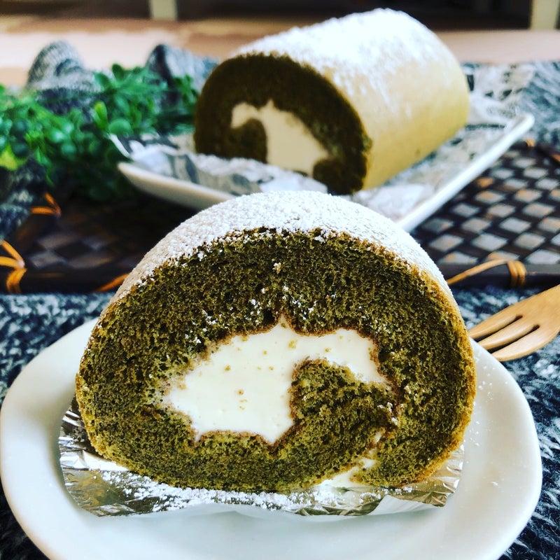 抹茶 ロール ケーキ レシピ