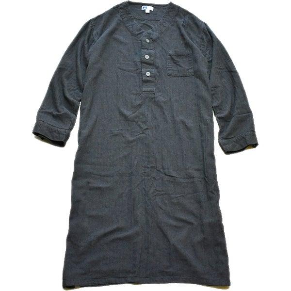 パジャマ長袖グランパシャツワンピ古着屋カチカチ