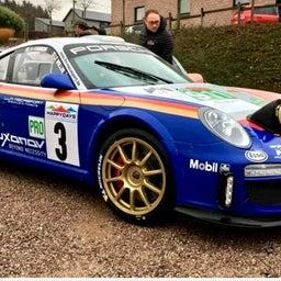 画像 Porsche911GT3 rally の記事より 1つ目